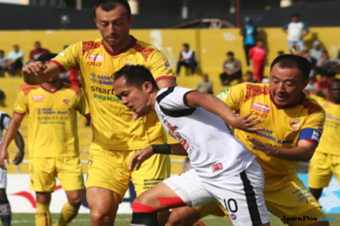 Liga 1 2018, Sriwijaya FC, Madura United, Sriwijaya FC vs Madura United