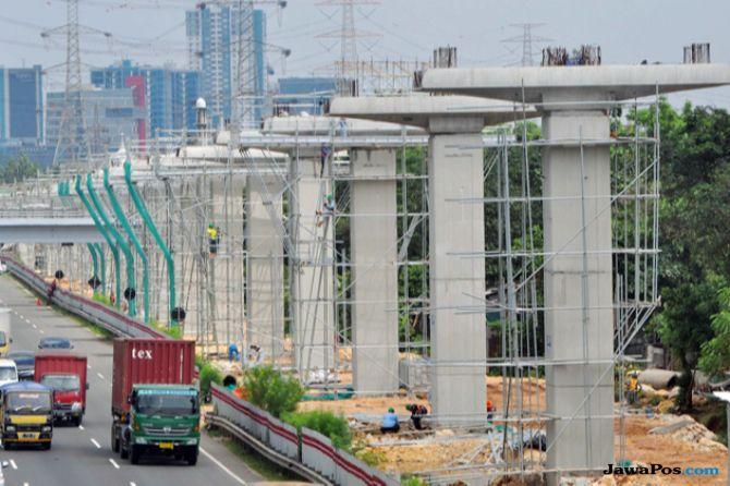 Status Lahan Kwarnas Untuk LRT Jabodebek Masih Belum Jelas