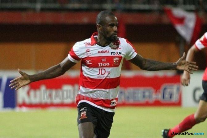 Madura United, Persib Bandung, Greg Nwokolo, Liga 1 2018