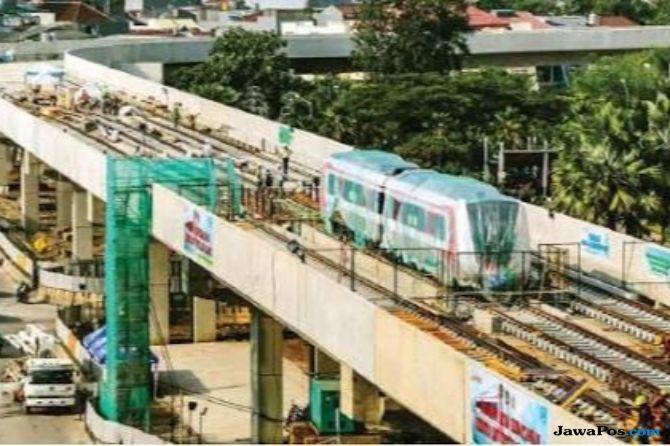 Sudah Uji Operasi, Kemenhub Tak Kunjung Beri Sertifikat LRT Jakarta