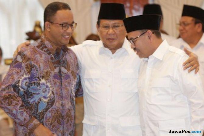 Anies, Prabowo dan Sudirman Said
