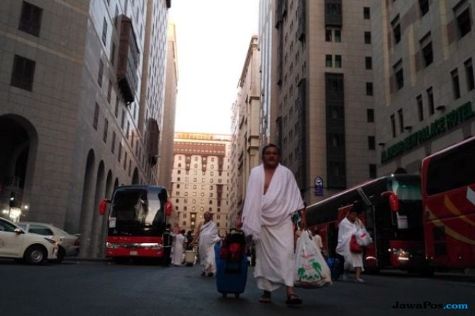 Sulit Adaptasi Suasana di Tanah Suci, Jamaah Lansia Rentan Stres