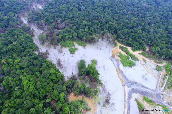Sungai tercemar limbah tambang