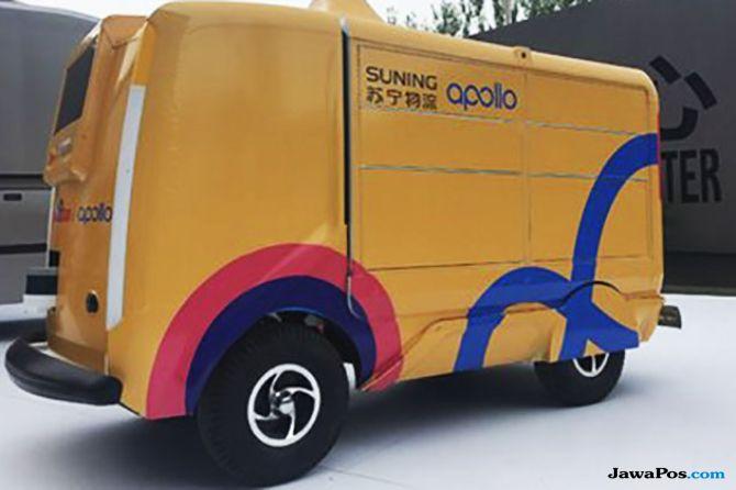 Suning Logistics Kembangkan Teknologi Kendaraan Kargo Swakemudi
