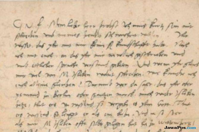 Surat Martin Luther King 500 Tahun Lalu Dijual Rp 4,3 Miliar