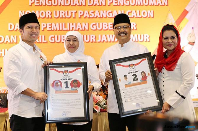 Survei: Pendukung Gerindra dan PKS Justru Dukung Khofifah-Emil