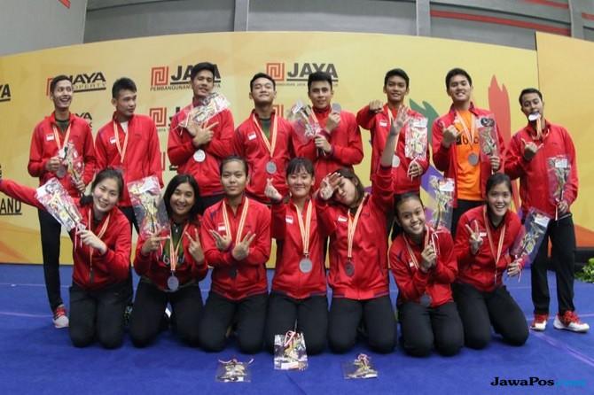 Tim Bulu Tangkis Indonesia, BWF World Junior Championships 2017,