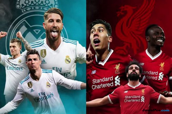 Final Liga Champions, Real Madrid vs Liverpool, Berita Real Madrid, Berita Liverpool,