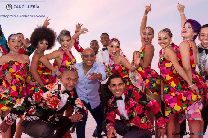 Swing Latino dari Kolombia Siap Goyang Indonesia