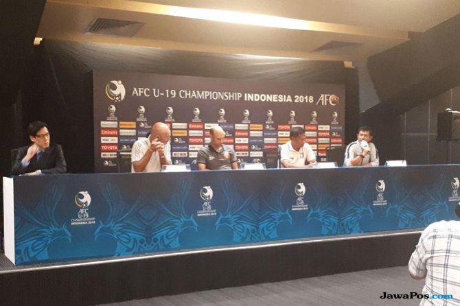 Piala Asia U-19 2018, Timnas U-19 Indonesia, Timnas U-19, Taiwan, Pelatih Taiwan, Vom Ca Nhum, Atmosfer Suporter