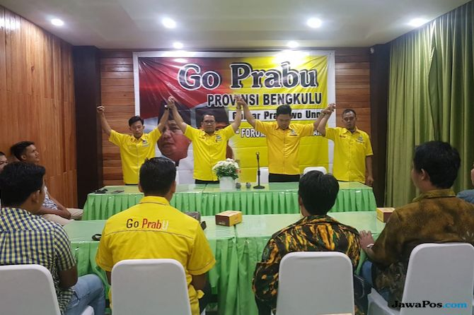 Tak Bisa Dihentikan, Caleg Golkar Bengkulu Deklarasikan Go Prabu