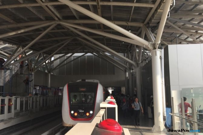 Tak Ingin Mogok Seperti di Palembang, LRT Jakarta Jaga Kecepatan