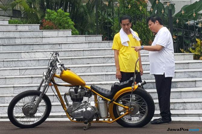 Tak Mau Disalip TGB, Golkar Dorong Airlangga Jadi Cawapres Jokowi
