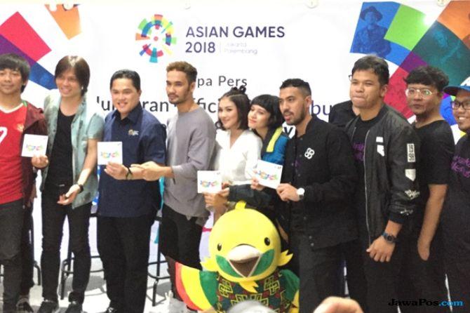 Tak Takut Dibully, JFlow Buat Lagu Bahasa Inggris untuk Asian Games