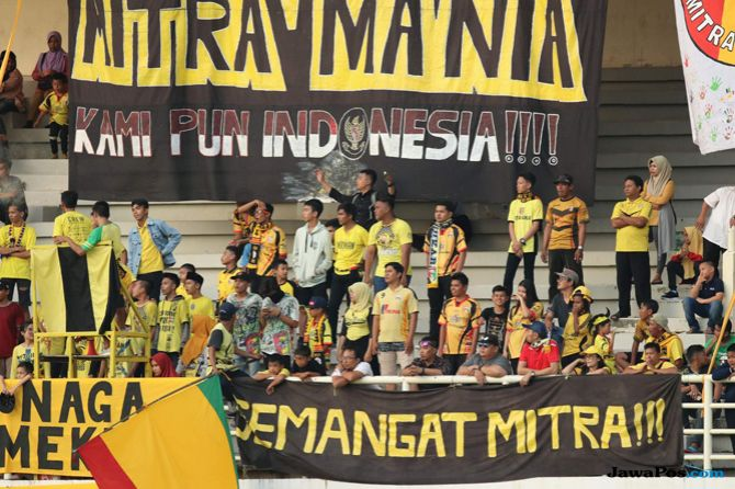 Mitra Kukar, Mitman, Liga 1 2018, Borneo FC, The Warriors