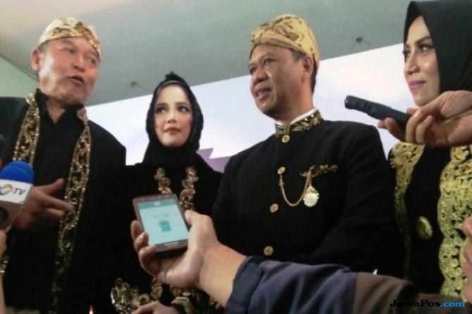 Pasangan calon gubernur dan wakil gubernur Jawa Barat 2018 nomor urut 2 TB, Hasanuddin-Anton Charliyan
