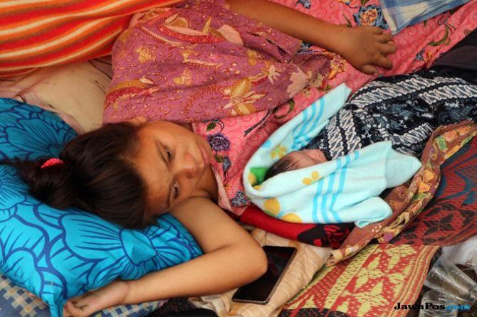 Tegar, Bayi yang Lahir saat Gempa di Lombok