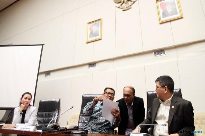 Temui Presiden Jokowi, Pimpinan Pansus Angket Beberkan Hasil Kerja