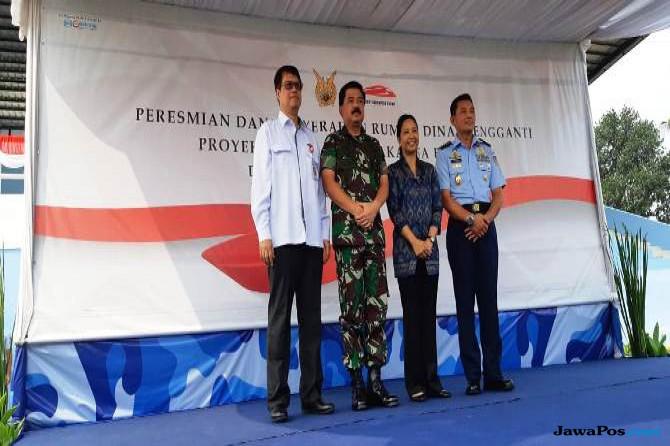 Terdampak Proyek Kereta Cepat, KCIC Bangun 408 Unit Rumah Untuk TNI AU