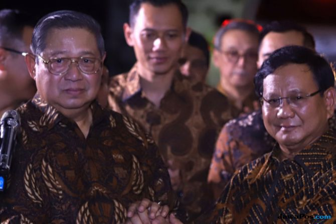 SBY, Prabowo, andi arief