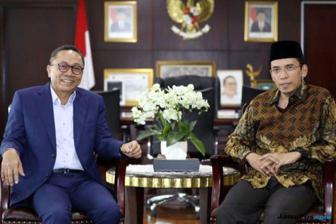 TGB Dukung Jokowi, Prabowo: Kita Ada Amien Rais