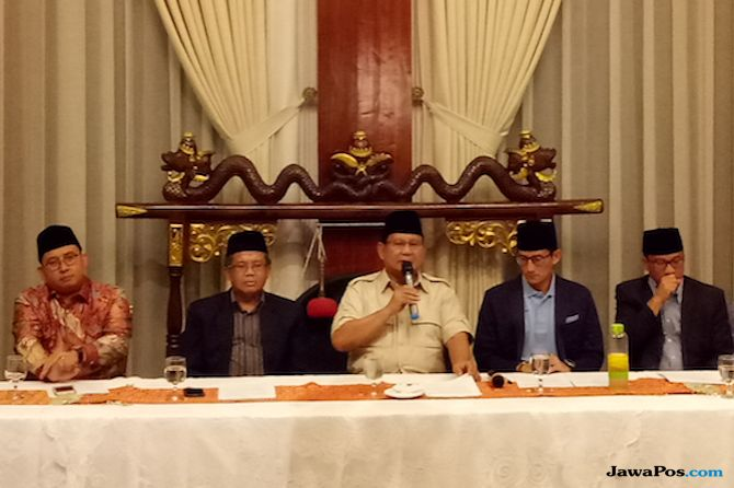 Tidak Hadir di Acara Pertemuan Ketum Parpol Oposisi, Prabowo Bela SBY