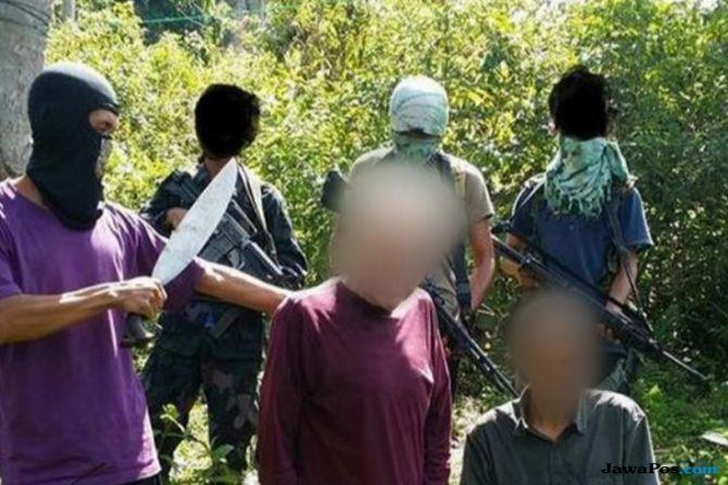 Tiga WNI Sandera Abu Sayyaf Bebas, abu sayyaf,