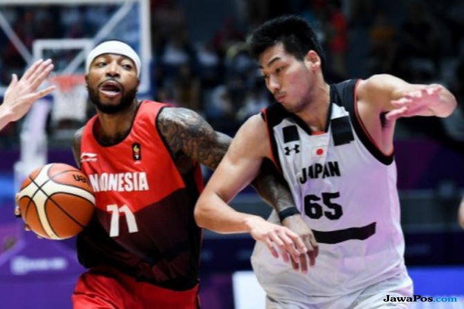 Asian Games 2018, basket, Indonesia, Jepang