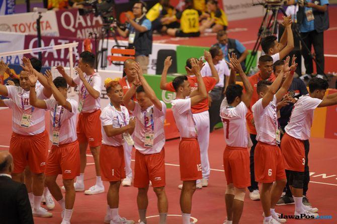 Asian Games 2018, Sepak Takraw, Tim Indonesia, Malaysia