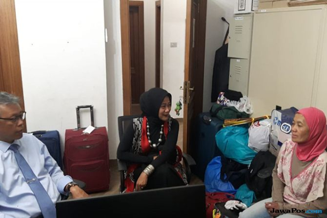 TKI Asal Lampung Ditemukan Setelah 15 Tahun Ditahan Majikan