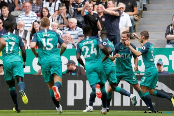 Premier league 2018-2019, Liga Inggris, Newcastle United, Tottenham Hotspur