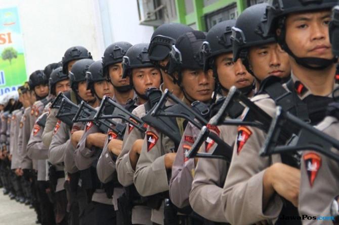 Tragedi Bom Surabaya, Polda Sumut Perketat Penjagaan di Tempat Ibadah