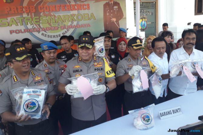 Transit Riau, 6 Kg Sabu-sabu Asal Tiongkok Gagal Diedarkan di Surabaya