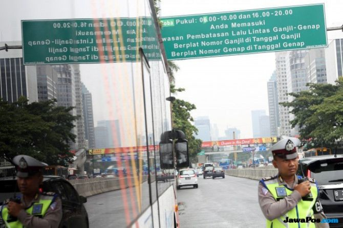 Uji Coba Ganjil Genap, Pemkot Bandung Kaji Empat Jalan Ini