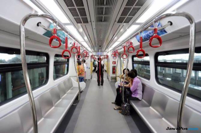Uji Coba LRT, Kecepatan 40 Kilometer Per Jam
