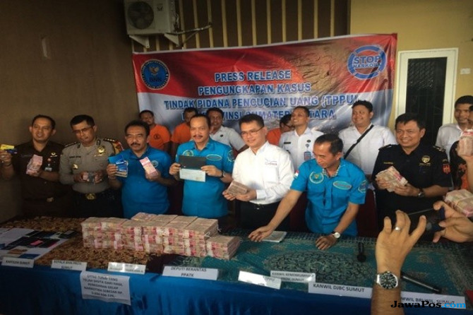 Ungkap TPPU Hasil Jual Narkoba, BNN Sita Rumah Mewah dan Uang Miliaran
