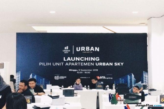 Urban Jakarta Propertindo Luncurkan 1.700 Unit Apartemen TOD