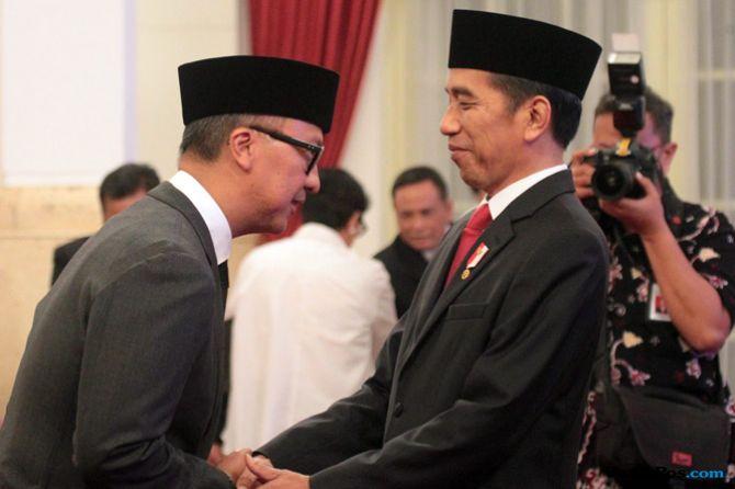 Usai Dilantik, Agus Gumiwang Langsung Terbang ke Lombok Bersama Jokowi