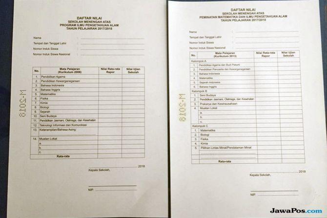 Waduh, 15.232 Lembar Ijazah SMA-SMK Salah Cetak