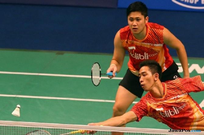 Wahyu Nayaka Arya Pangkaryanira/Ade Yusuf Santoso ke final Thailand Masters 2018