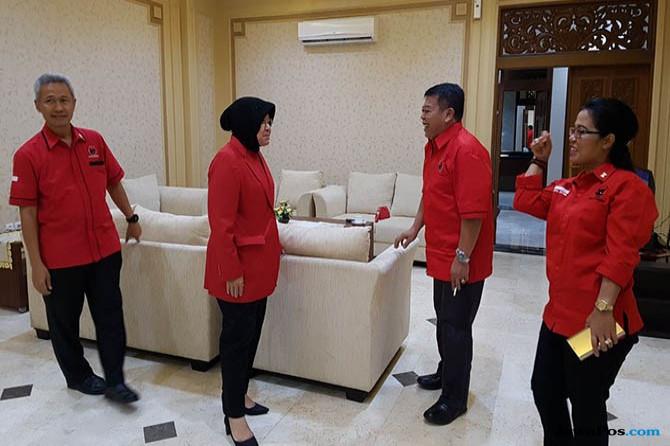 Walikota Risma Jemput Puti Soekarno Di Juanda