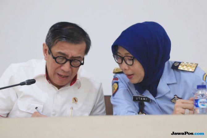 Warga Binaan se-Indonesia Deklarasi Melek Baca Alquran