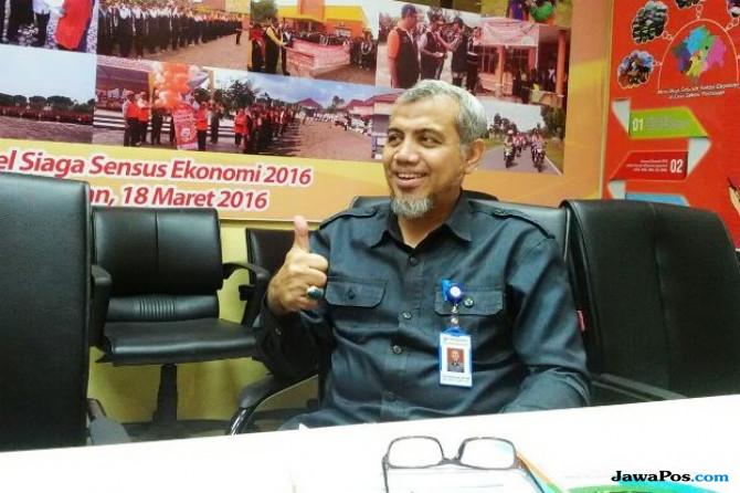 Kepala BPS Sumsel, Yos Rusdiansyah