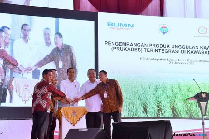 Wilayah Transmigrasi Berhasil Jadi Sentra Produk Unggulan