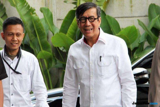 Wiranto: Tak Diatur dalam UU, Yasonna Bisa Disalahkan jika Teken PKPU