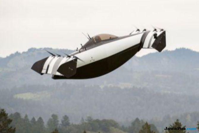 Wow, Begini Penampakan Mobil Terbang Blackfly