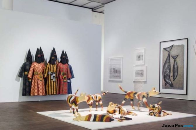 Wow, Galeri Nasional Australia Miliki 2 Ribu Lebih Tekstil Indonesia