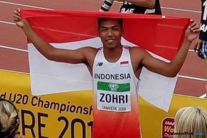 Lalu Muhammad Zohri, Juara Dunia, Kejuaraan Dunia Atletik U-20, ACT, Aksi Cepat Tanggap