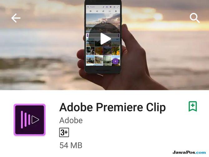 Adobe Premiere Clip, edit video smartphone