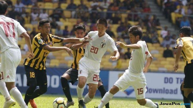 Piala Asia U-16 2018, Timnas U-16 Indonesia, Timnas U-16, Malaysia, Jepang, Perempat Final